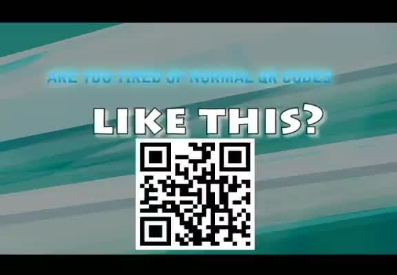 create custom QR codes