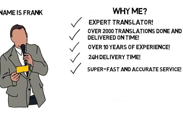 do the BEST English,Italian,Romanian Translation