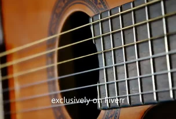 record meditation music on acoustic guitar