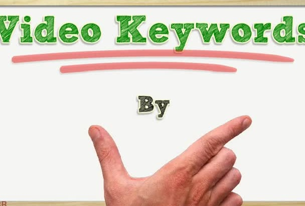 find buyer video keywords for your videos