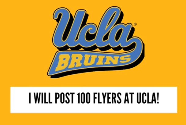 post 110 Flyers at UCLA