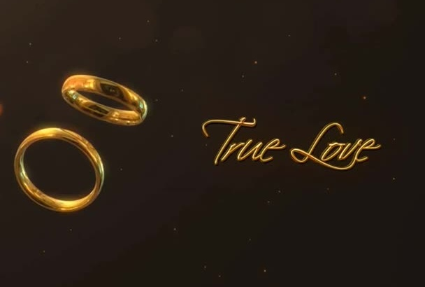 create Love, Couple, Wedding video