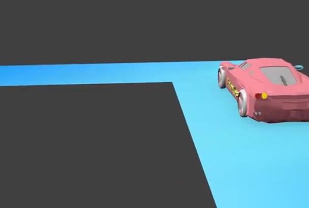 model a simple object or scene in blender