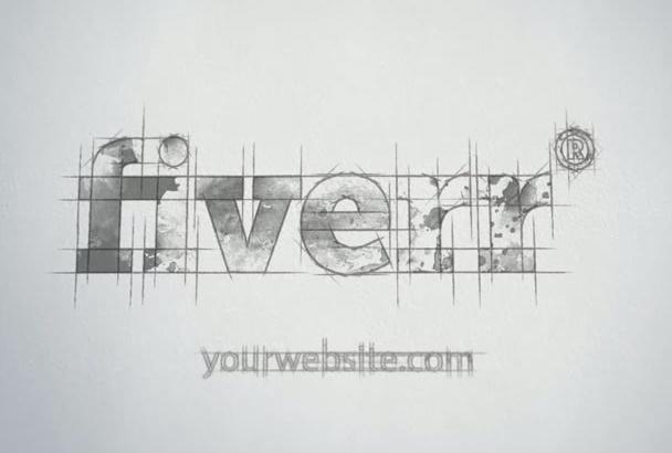create AMAZING sketch intro video animation