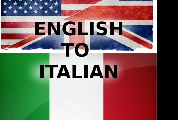 translate up to 600 words from English to Italian