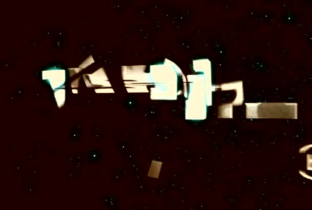 create video opener intro like movie Transformer