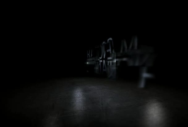 create 3D cinematic logo
