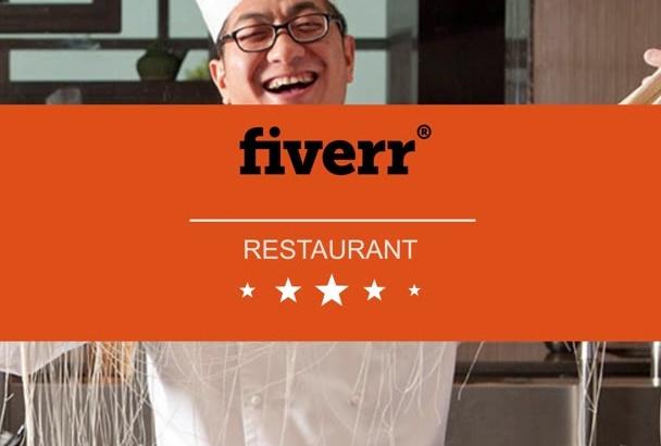 make Modern Menu for Bar and Restaurant Video