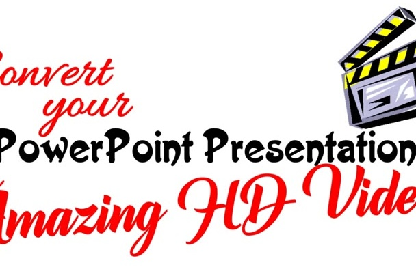 convert PowerPoint Slides to HD Videos Quickly