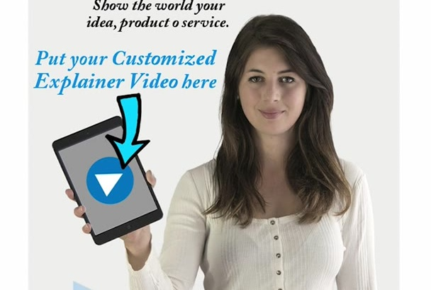 create a super CUSTOMIZED explainer video