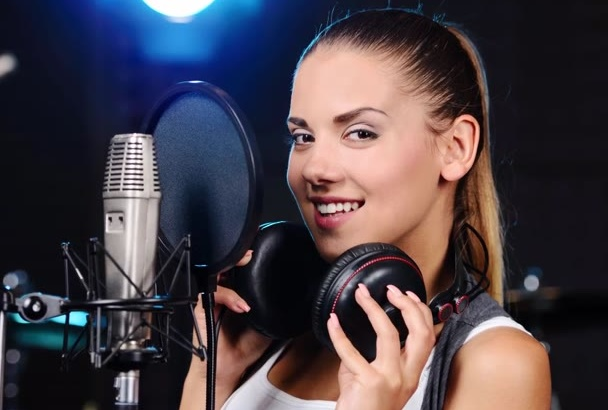 record any Voice Over in an American accent