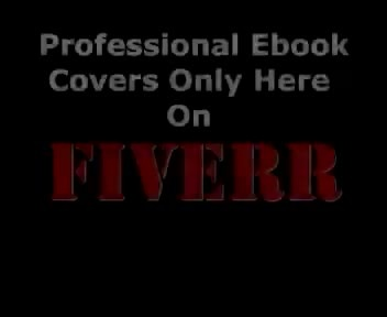 design and create a Professional Ebook Cover within 24 Hours just