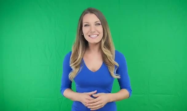 produce a professional green screen video for business