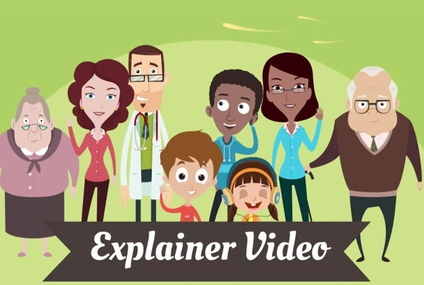 make Top level animated Explainer video
