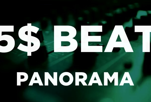 send you a royalty free beat called Panorama