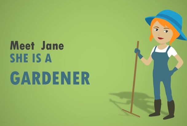 create this Gardening Business STUNNING Video Commercial