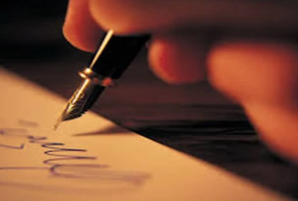 write a Personalized Poem or Letter for ANY