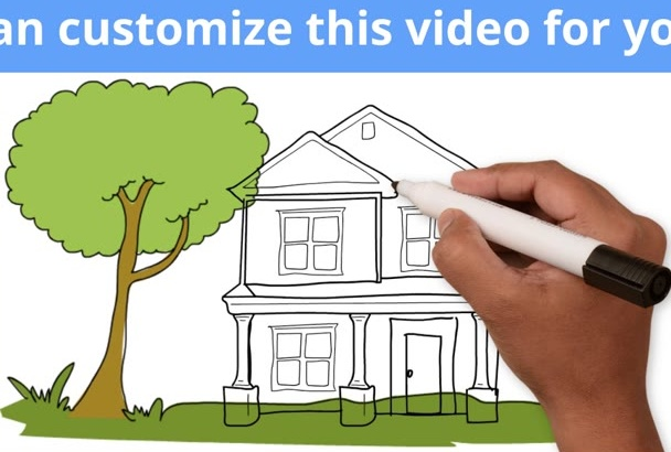 do whiteboard explainer video for real estate agents