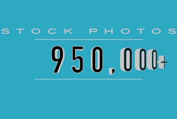 give you access to 950,000 royalty FREE stock photos