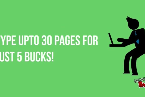 type up to 30 pages within 48 hours