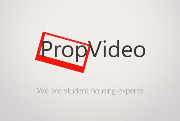 create a student property video advert