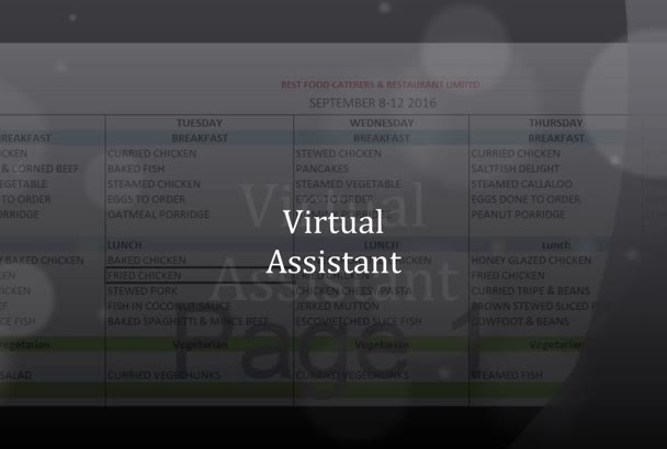 be your Holiday virtual   assistant
