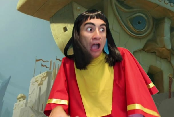 say anything as Emperor Kuzco