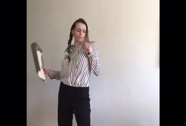 do a themed dance video to your music