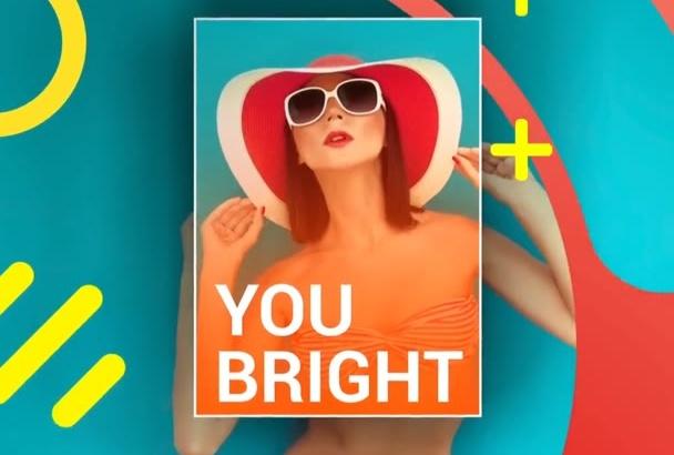 make make Colourful SlideShow Video