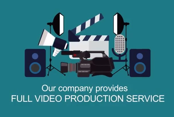 make a video production company videographer Explainer intro