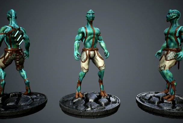 designing 3D Characters for Games