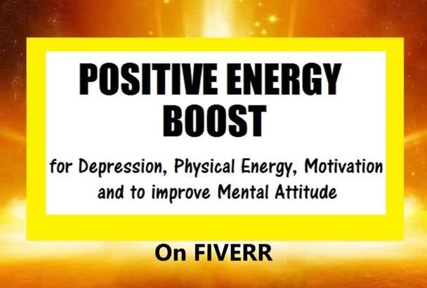 cast up to 1,000,000x potency Positive ENERGY Aurora to remove Depression