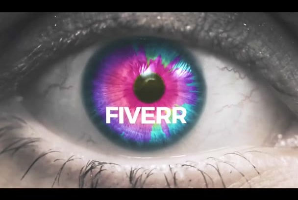 make a MUSIC animated video with your Song and a Crazy Eye