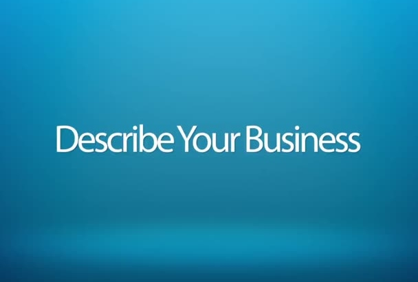 video promote Your Website, business or Anything