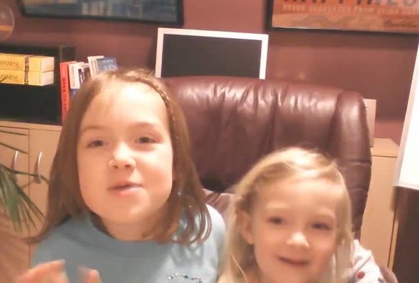 be a cute kid singing Happy Birthday to anyone
