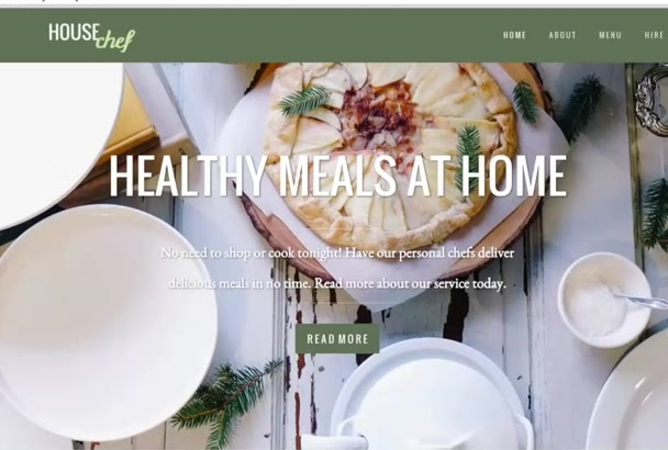 create a Stunning Weebly Website for You