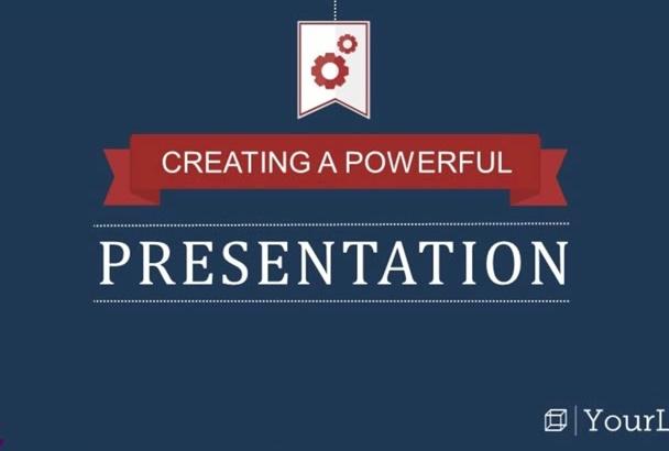 create an Professional Powerpoint Presentation