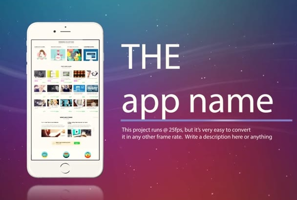 design a promo video for your mobile app