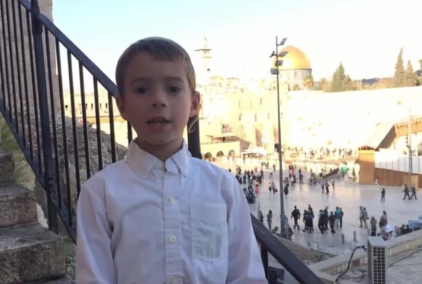 pray on your behalf at the western wall in Jerusalem