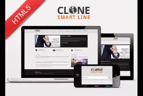 clone your html,css and js awesome website within 24 hours