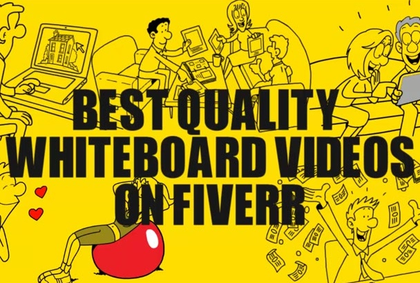 do interactive WHITEBOARD animation video