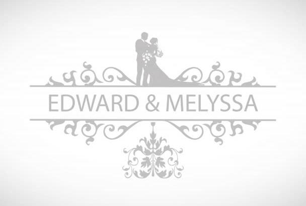 create memorable wedding intro video