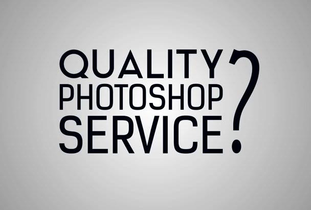 do QUALITY Photoshop Editing