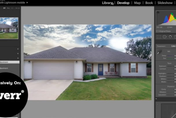 edit your Real Estate photo within 48 hours