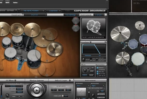 program drums for your song