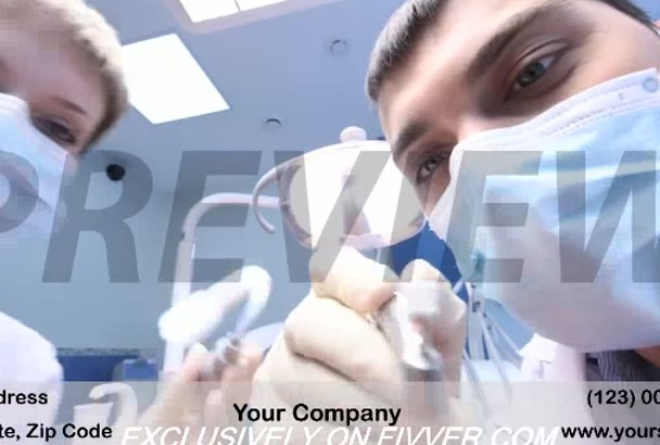 brand a video customized for Dentistry Practice