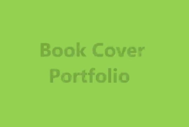design a 2D Flat Professional eBook or kindle cover