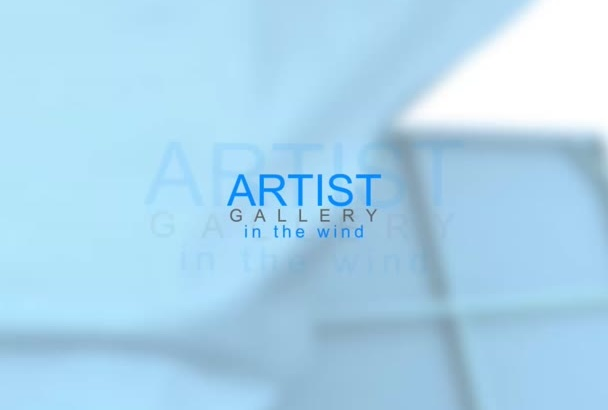 create this stunning artist gallery to promote your business