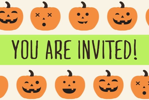 create a Fun Halloween Invitation