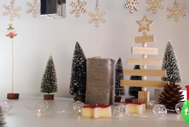 create stop motion christmas video